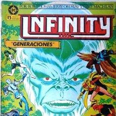 Comics: INFINITY INC # 2 - GENERACIONES - AÑO 1986 - EDICIONES ZINCO - ROY THOMAS & ORDWAY - 36 P - JOYA. Lote 22279049