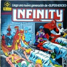 Comics: INFINITY INC # 3 - GENERACIONES - AÑO 1986 - EDICIONES ZINCO - ROY THOMAS & ORDWAY - 36 P - JOYA. Lote 22291259