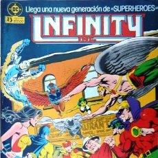 Comics: INFINITY INC # 4 - GENERACIONES - AÑO 1986 - EDICIONES ZINCO - ROY THOMAS & ORDWAY - 36 P - JOYA. Lote 22291260