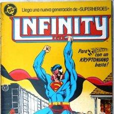Cómics: INFINITY INC # 5 - GENERACIONES - AÑO 1986 - EDICIONES ZINCO - ROY THOMAS & ORDWAY - 36 P - JOYA. Lote 28464119