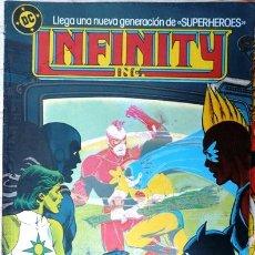 Cómics: INFINITY INC # 6 - GENERACIONES - AÑO 1986 - EDICIONES ZINCO - ROY THOMAS & ORDWAY - 36 P - JOYA. Lote 28464120