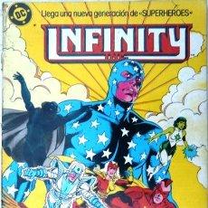 Cómics: INFINITY INC # 8 - GENERACIONES - AÑO 1986 - EDICIONES ZINCO - ROY THOMAS & ORDWAY - 36 P - JOYA. Lote 22291323