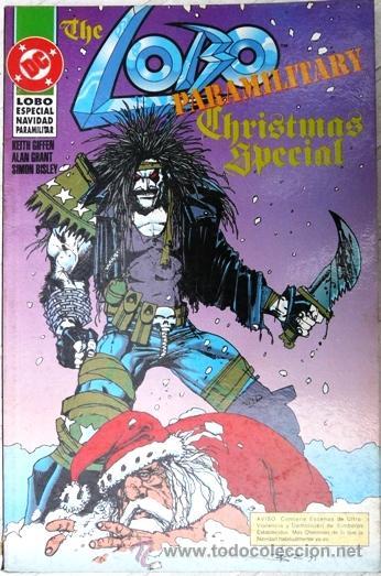 LOBO ESPECIAL NAVIDAD PARAMILITAR - ED. ZINCO - 48 PAG - AÑO 1991 - JOYA DE COLECCION (Tebeos y Comics - Zinco - Lobo)