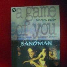 Cómics: SADMAN - A GAME OF YOU 3 - GAIMAN - VERTIGO. Lote 23908270