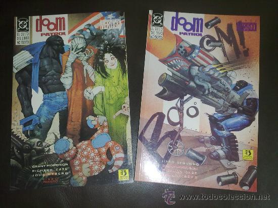 DOOM PATROL - LA PATRULLA CONDENADA EL CULTO DEL LIBRO NO ESCRITO LIBRO PRIMERO Y SEGUNDO -COMPLETA (Tebeos y Comics - Zinco - Patrulla Condenada)