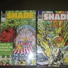 Cómics: SHADE TOMOS 1 Y 2 - COMPLETA - MILLIGAN, BACHALO. Lote 26136417