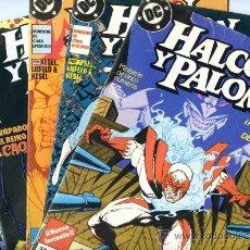 Cómics: HALCON Y PALOMA - MINISERIE COMPLETA DE 5 NÚMEROS - ZINCO 1989. Lote 25067645