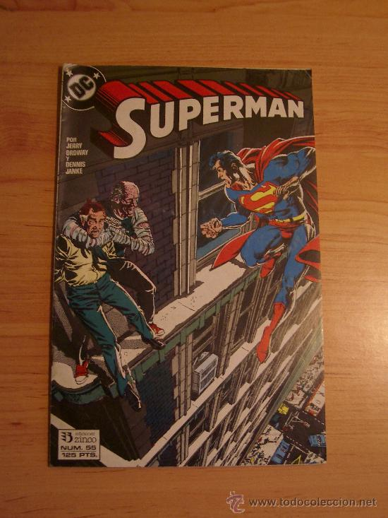 SUPERMAN NUM. 55. LITERACOMIC. (Tebeos y Comics - Zinco - Superman)