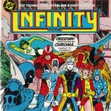 Cómics: LOTE DE 3 EJ. INFINITY INC. - ED.ZINCO 1986 (VER DETALLE) . Lote 25231619