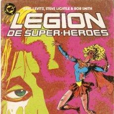 Cómics: LEGIÓN DE SUPERHÉROES - Nº 11 - ED. ZINCO 1987 - NO RETAPADO. Lote 22950585