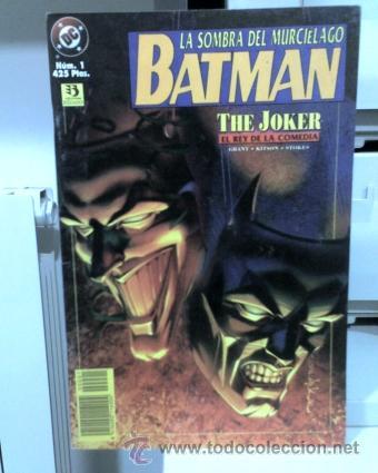 BATMAN, LA SOMBRA DEL MURCIÉLAGO: THE JOKER. Nº1. EDICIONES ZINCO. (Tebeos y Comics - Zinco - Batman)