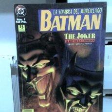Cómics: BATMAN, LA SOMBRA DEL MURCIÉLAGO: THE JOKER. Nº1. EDICIONES ZINCO.. Lote 22997862