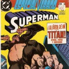 Cómics: COMIC SUPERMAN, ESPECIAL VERANO, Nº 6 - LA FURIA DE UN TITAN - ED. ZINCO .. Lote 23013231