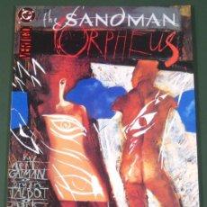 Cómics: SANDMAN: LA CANCION DE ORFEO - SONG OF ORPHEUS - ( DC , ZINCO ). Lote 269477803