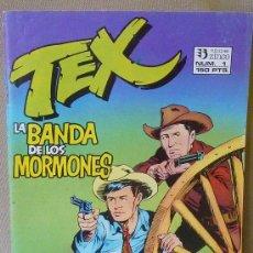 Cómics: COMIC, TEX, LA BANDA DE LOS MORMONES, EDICIONES ZINCO, Nº 1,. Lote 23592545