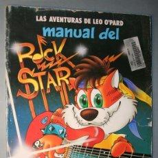 Cómics: LAS AVENTURAS DE LEO O'PARD - MANUAL DEL ROCK STAR - EDICIONES ZINCO. Lote 27269628