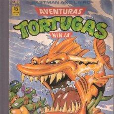 Cómics: TEBEOS Y COMICS - AÑOS 90 - AVENTURAS TORTUGAS NINJA - EDICIONES ZINCO - NUMERO 7. Lote 23592847