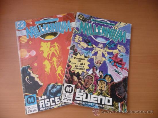 MILLENNIUM. 1 AL 8 EN DOS TOMOS. ¡¡¡COMPLETA!!!ZINCO (Tebeos y Comics - Zinco - Millenium)