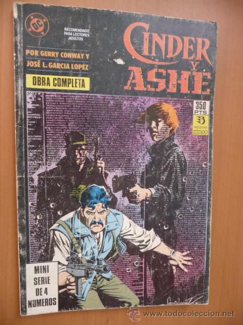 CINDER Y ASHE. COMPLETA EN UN TOMO. ZINCO (Tebeos y Comics - Zinco - Otros)