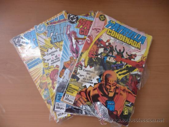 LA PATRULLA CONDENADA. ¡¡¡COMPLETA EN 4 TOMOS!!!! ZINCO (Tebeos y Comics - Zinco - Patrulla Condenada)