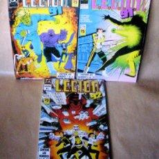 Cómics: LEGION 91 92 – COMPLETA 15 NÚMEROS EN 3 TOMOS – ED ZINCO AÑO 1991. Lote 26918589