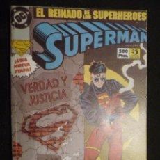 Cómics: SUPERMAN. EL REINADO DE LOS SUPERHEROES. TOMO 1 AL 4. ZINCO. Lote 26320555