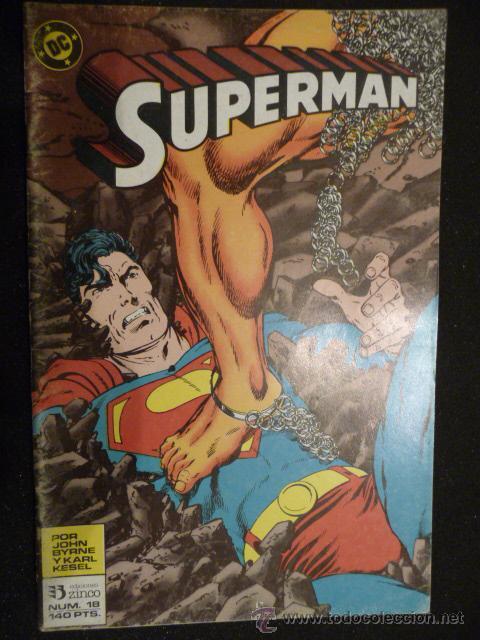 SUPERMAN. Nº 18. ZINCO (Tebeos y Comics - Zinco - Superman)