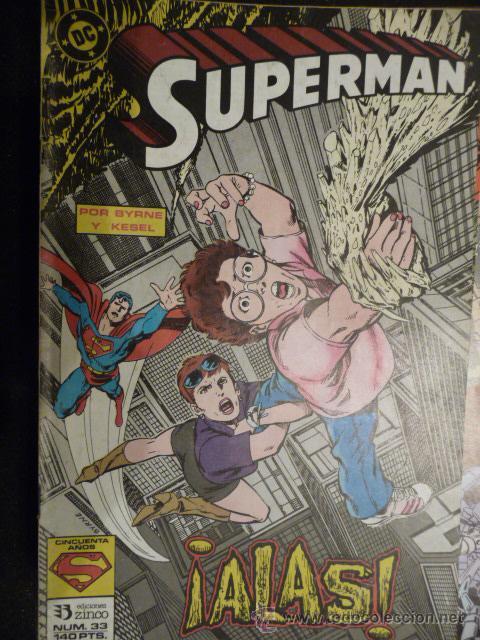 SUPERMAN. Nº 33. ZINCO (Tebeos y Comics - Zinco - Superman)