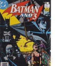 Cómics: BATMAN - AÑO 3 (COLECCIÓN COMPLETA, 2 NÚMEROS). Lote 24502744