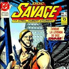 Cómics: LOTE DOC SAVAGE (SERIE COMPLETA 4 NÚMEROS). Lote 24683958