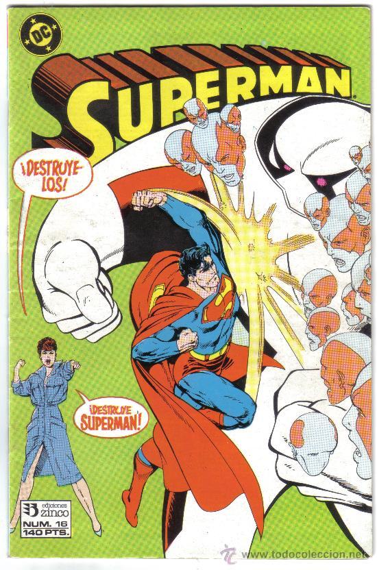 SUPERMAN NUM. 16. DC, ZINCO. (Tebeos y Comics - Zinco - Superman)