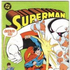 Cómics: SUPERMAN NUM. 16. DC, ZINCO.. Lote 26628488