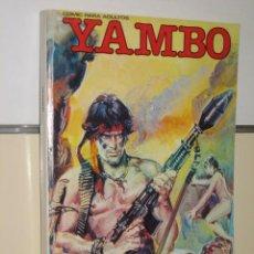 Cómics: YAMBO Nº 1 AL 4 EN UN TOMO RETAPADO - EDICIONES ZINCO. Lote 25317428