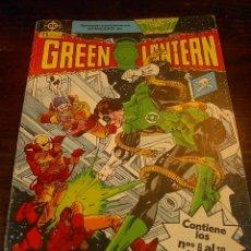 Cómics: DC ZINCO, GREEN LANTERN, CONTIENE LOS NUMEROS 6 AL 10. Lote 25546452