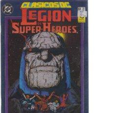Comics: LEGIÓN DE SUPER-HEROES (LA SAGA DE LA GRAN OSCURIDAD) - CLÁSICOS DC NÚMERO 22 - CJ34. Lote 25582076