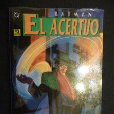 Cómics: BATMAN. EL ACERTIJO. PRESTIGIO. Lote 88915304