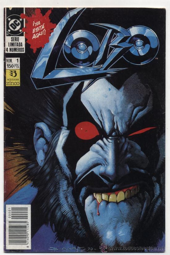 LOBO Nº 1. (Tebeos y Comics - Zinco - Lobo)