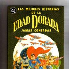 Cómics: (M-1) LAS MEJORES HISTORIAS DE LA EDAD DORADA JAMAS CONTADAS, END ZINCO,1990 , . Lote 33284493