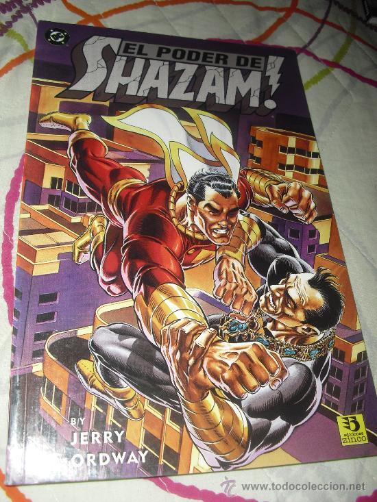 EL PODER DE SHAZAM - ZINCO - DC COMICS - JERRY ORDWAY - EL CAPITÁN MARVEL - (Tebeos y Comics - Zinco - Otros)