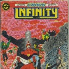 Cómics: INFINITY INC - TOMO QUE CONTIENE LOS NÚMEROS 15, 16, 17 Y 18 - ED. ZINCO 1986. Lote 27534204