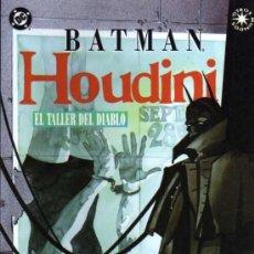 Cómics: BATMAN EL TALLER DEL DIABLO - CHAYKIN/MOORE/CHIARELLO - DC/ED. ZINCO. Lote 27703451