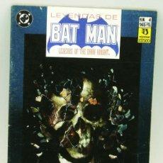 Cómics: LEYENDAS DE BATMAN Nº 4 ED ZINCO 1990. Lote 27806242