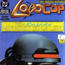 Comics: LOBOCOP: UNA PARODIA BASTARDA (¡EL RAJADO REFUERZO DE LA LEY!) - NÚMERO ESPECIAL - CJ23. Lote 27905066