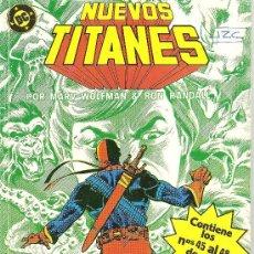 Cómics: NUEVOS TITANES TOMO CON LOS NUMEROS 45 AL 48. Lote 27936741