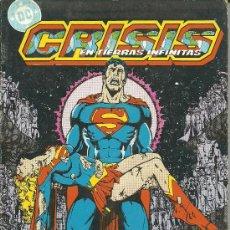 Cómics: CRISIS EN TIERRAS INFINITAS Nº 5 AL 8. Lote 27956052