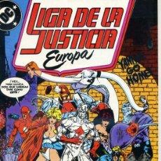 Cómics: LIGA DE LA JUSTICIA EUROPA Nº 3. Lote 27990227