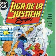 Cómics: LIGA DE LA JUSTICIA EUROPA Nº 2. Lote 27990228