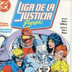 Cómics: LIGA DE LA JUSTICIA EUROPA Nº 1. Lote 27990229