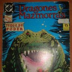 Cómics: DRAGONES Y MAZMORRAS. JUEGO DE PODER. JUEGOS DE MAGIA. EDICIONES ZINCO.. Lote 28056384