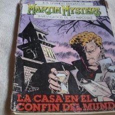 Cómics: MARTIN MYSTERE / LA CASA EN EL CONFIN DEL MUNDO / 98 PAGINAS. Lote 28212777